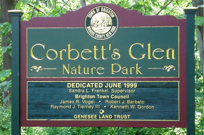 Corbetts Glen Sign