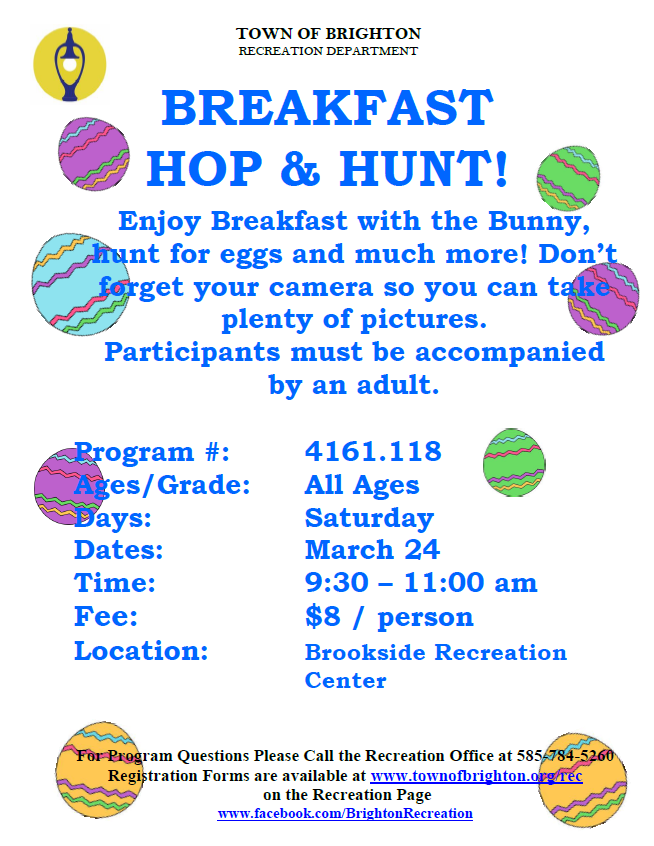 Breakfast Hop and Hunt
