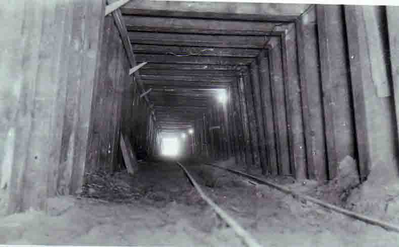 1924 Tunnel looking west
