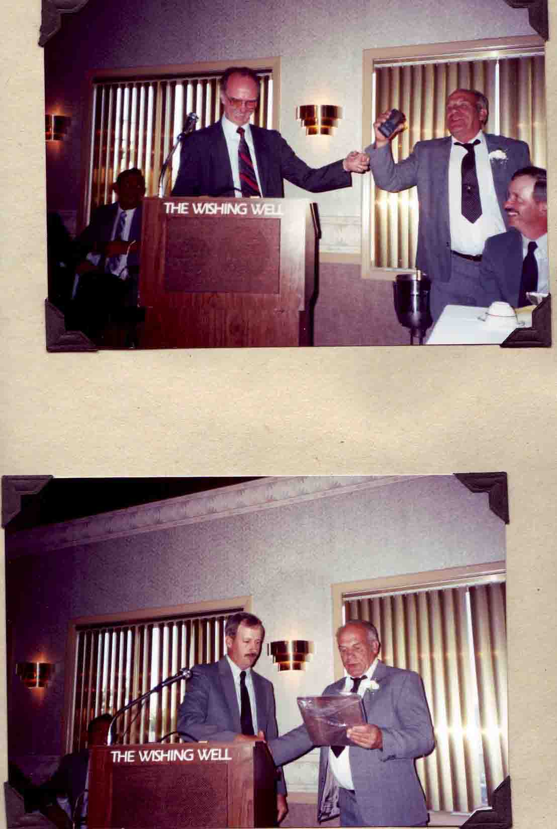 1990 Hoyt, Norm Retirement (1)